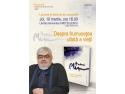 """Lansare de carte si sesiune de autografe - """"Despre frumusetea uitata a vietii"""" de Andrei Plesu"""