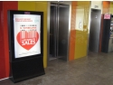 lift. Publicitate indoor - Campanie Baneasa Shopping City