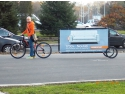invent media. Publicitate pe bicicleta