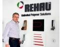 rulouri din pvc. REHAU reconfirmă în 2014 poziţia de lider pe piaţa profilelor din PVC