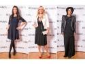 Butterfly by Dana Savuica. Giulia Anghelescu, Anca Serea, Dana Savuica si multe alte vedete au admirat rochii de designer la inaugurarea DRESSBOX.