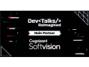 Cognizant Softvision – Partener Principal la DevTalks Reimagined biz good news
