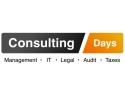aplica. Ultimele zile in care te poti inscrie la Consulting Days. Aplica pana pe 7 martie la cel mai important eveniment de consultanta din aceast an