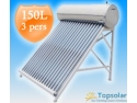lumina calda. Panou Solar apa calda 150L pentru 3 persoane