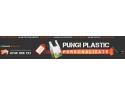 plastic. Pungi plastic personalizate