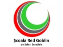 red blonde. Logo Scoala Red Goblin de sah si scrabble