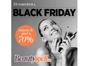 magazin cosmetice. Black Friday la BeautySpell.ro