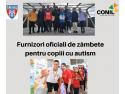 Înotătorii de performanță ai CSA Steaua București câștigă un altfel de titlu. Cei mai activi fundraiseri pentru copiii cu autism din Asociația CONIL lenjerii creponate