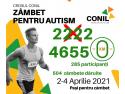 Crosul CONIL, Zâmbet pentru autism, 2-4 aprilie 2021 la final