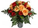 flori si cadouri martie. Fotografie la primirea buchetului de flori prin Buchet Express