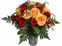 libraria books express. Fotografie la primirea buchetului de flori prin Buchet Express