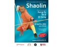 Afis eveniment Shaolin