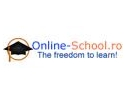 back to school 2014. S-a lansat Online-School.ro - The freedom to learn!