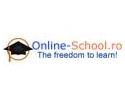Online-School.ro – noi sesiuni de instruire online in aprilie