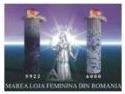 MAREA MAESTRA A MLFR ANCA NICOLESCU INVITATA LA A 32 ANIVERSARE A MAREI LOJI ORIENTALE  DIN PERU