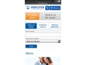 centru medical privat. Medicover lansează în premieră pentru sistemul medical privat din România  versiunea mobile a site-ului