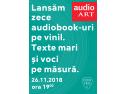 audioART lansează zece audiobook-uri pe vinil