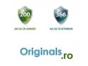 Originals.ro - singurul magazin online care oferă garanție 200 de zile și 366 de zile pentru returnare.