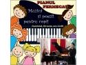 Pianul fermecat – spectacol pentru copii cu muzica, poezii si cadouri boerescu