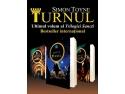timbre cu turnul ceasului. Turnul,  de Simon Toyne,  lansare prin videoconferinţă la Bookfest 2014