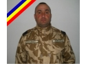 ceremonii militare. Plutonierul-major Claudiu Constantin Vulpoiu
