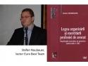 Lect. Univ. Dr. Stefan Naubauer. Este cadru didactic în învățământul juridic superior din anul 2003, doctor în drept și avocat în Baroul București.