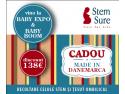 Stem SURE te asteapta luna aceasta la Baby Expo si Baby Boom cu un CADOU Made in Danemarca