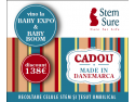 recoltare celule stem. Stem SURE te asteapta luna aceasta la Baby Expo si Baby Boom cu un CADOU Made in Danemarca