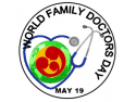 familie. Logo World Family Doctor`s Day