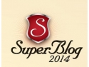 Agentia creativa ink9. logo SuperBlog 2014