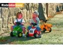 husa de picioare. Tractor fara pedale http://lumeacopiilor.com.ro/30-masinute-si-triciclete-copii-fara-pedale
