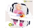 Scaun multifunctional pentru copii: scaun pentru luat masa si balansoar electronic