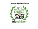 Bucharest. Unique Hotel Bucharest named winner in 2015 Tripadvisor travelers' Choice Awards for hotels