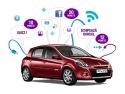 """Renault Clio. Grapefruit semnează campania digitală """"Mașina interactivă"""" pentru Renault Clio Yahoo!"""
