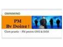 Noua formula flexibila pentru desfasurarea cursului de initiere in Managementul de Proiect, 'PM BY DOING' !