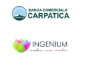Ingenium Media devine agentia oficiala de media a Bancii Comerciale Carpatica in 2013