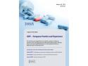 GDP, reguli de buna practica de distributie a medicamentelor