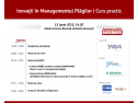 Inovatii in Managementul Plagilor