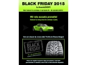 21 noiembrie. Black Friday la AnveloSHOP! Reduceri la toata gama de anvelope si jante, in perioada 20-22 noiembrie 2015!