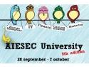 O traditie de succes – Incepe a 5-a editie a proiectului AIESEC University