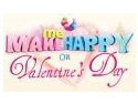 make a wish. Make Me Happy on Valentine`s Day! Concurs