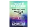 EVENIMENTUL PRACTICA ÎN JOCUL RESPONSABIL oferit de Revista Casino Inside și susținut de Programul Joc Responsabil 8 IUNIE 2015, Hotel Novotel, Sala Paris Rive Gauche Invitat special: Pieter Remmers