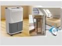 nivel de umiditate. Dezumidificatoarele casnice oferite de Life Art Distribuție sunt prevăzute cu higrostat variabil, pornind și oprindu-se automat în funcție de nivelul de umiditate din încăpere!