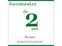 Executorul.ro - de 2 ani despre