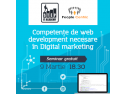 "marketing profitabil. STEP IT Academy și People Centric organizează evenimentul ""Competențe de web development necesare în digital marketing"""