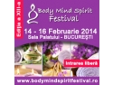 14 februarie. Conferinte gratuite vineri 14 februarie 2014 la Body Mind Spirit Festival