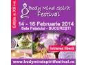 Conferintele. Inscrie-te la conferintele de duminica  16  februarie 2014 la Body Mind Spirit Festival