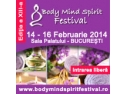 Inscrie-te la conferintele de duminica  16  februarie 2014 la Body Mind Spirit Festival