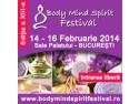 Conferintele. Participa sambata 15 februarie 2014 la conferintele din cadrul Body Mind Spirit Festival