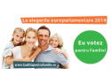 legi familie. În 2014, EU votez pentru Familie!